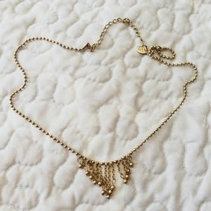 LC trendz gold ball necklace